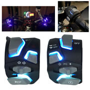 7/8and039and039 Motorcycle Handlebar Switch Headlight Warning Light Horn Start Kill Button