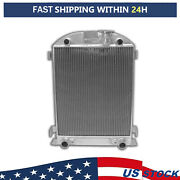 New Full Aluminum Radiator For Ford Flathead Engine 1932 Height=25-1/2and039and039