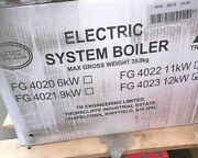 Trianco 4023 Aztec 12kw Electric System Boiler Delivery And Vat Included