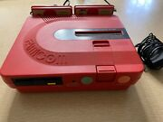 Sharp Twin Famicom Console Rgb Mod Red An500r Japan System Us Seller Please Read