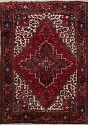 Excellent Vintage Geometric Traditional Oriental Area Rug Hand-knotted Wool 8x9