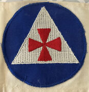 Ww2 Wwii Us American Civil Defense Auxiliary Fireman Armband Home Front