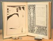 Salome London By Oscar Wilde 1894 1st Ed. 500 England Copies See Pedigree