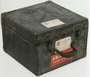 Used Vintage Chicago Cubs Team Travel Storage Container Trunk Wrigley Field