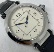 Pasha Jumbo White Dial Auto Stainless Steel Serviced 42mm 2730