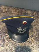1968 West German Air Force Officerand039s Hat Excellent Condition Wool German Militar