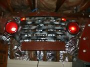 Vintage 1948 Ford Grill Wall Art Headlights And Flashers Light Up Great Piece