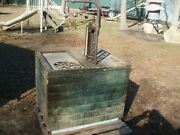 Vintage Bowser Self Measuring Oil Storage Oil Tank Great Condition