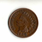 1900 Indian Head Penny Actual Coin Pictured1689