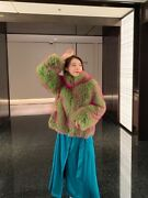 High Quality Womenand039s Warm Short Real Fur Coat With Fox Fur Fur Coat Parkas