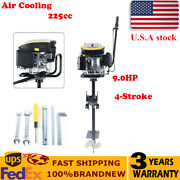 9hp 4 Stroke Outboard Engine Fishing Boat Motor 225cc Air Cooling 4500r/min Usa