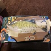 Big Mouth Billy Bass Singing Fish Complete And In Mint Condition