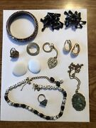 Grab Bag Assorted Costume Jewelry. Lot Cj3 5 Day Auction With No Reserve