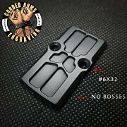 Rmr Cover Plate For Glock Slides Trijicon Holoson Swampfox Angled/nobosscut