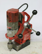 Milwaukee 4270-20 Magnetic Drill Press 1-1/2 1/2 Hp 450 Rpm