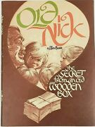 Old Nick By Tim Burr The Secret From An Old Wooden Box