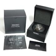 Seiko Astron Single-function World Time Sbxb095 Menand039s Watch Used