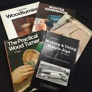 Vintage Woodworking Books Millwork Wood Router Turning Carving Jigs Paperback