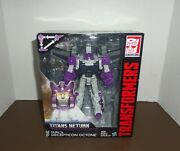 Transformers Titans Return Voyager Class Octone/octane And Murk New