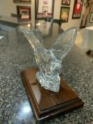 Waterford Collectors Society Crystal Nightingale Figurine 100747