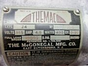 Themac J4 Mcgonegal Mfg Grinder Motor Only, 10,000 Rpm, Long Shaft