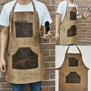Leather 103 Apron For Butcher Bbq Bbq,grill, Kitchen, Woodwork ,barber, Welding