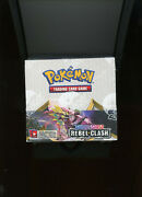 Pokemon Sword And Shield Rebel Clash Factory Sealed Booster Box