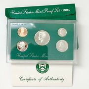 1994 United States Mint Proof Set Uncirculated Coins