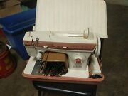 Singer Merritt 2404 Sewing Machine With Foot Pedal, Manual And Hard Case New Nos