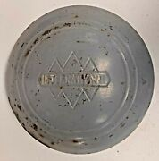 Vintage International Harvester Triple Diamond Hubcap 1940and039s 1950and039s