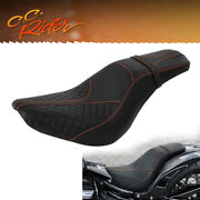 Driver Passenger Seat Fit For Harley Softail Deluxe Heritage Classic 18-21 Flhc