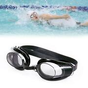 Antifog Swimming Goggles Uv Protection Wide View Glasses With Nose Clip Plug Ear
