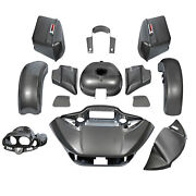 Fairings Bodywork Fit For Harley Touring Cvo Road Glide 15-21 18 Industrial Gray
