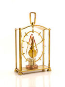 Jaeger Lecoultre Table Clock With 8 Day Baguette Movement Lantern