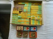 Meccano Parts/ New Old Stock Lot Of 50 + 3 + 3