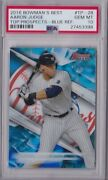 2016 Bowman Best Top Prospects Aaron Judge Pre Rookie Card Psa 10 Numbered