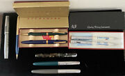 Vintage Fountain/ Ballpoint Pens And Pencils Lot Esterbrook, Parker, And More