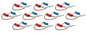 Set Of 10 Air Coil Brake Hose Tubing 15 Ft Red And Blue Replaces Velvac 022001