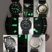 Seiko Automatic Water 150 M Resist 7002 7001 A1 Diving Watch Japan 17 Jewels