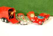 Small Group Of Small Metal Toys Corgi,dinky And Tootsietoy, Mostly 1950's