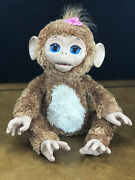 Furreal Friends Cuddles My Giggly Monkey Hasbro 2012 Euc Excellent Condition