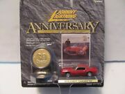 Johnny Lightning 30th Anniversary 70 Camaro Rs New From 2000 - Hard To Find Red