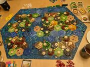 Settlers Of Catan And Seafarers Expansion 3d Printed Interlocking Tiles Painted