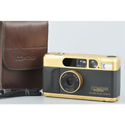 Nm Contax T2 Gold 60th Anniversary Model Film Camera With Case F/s From Japan