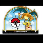 Pokemon Center Online Limited To 1000 Original Acrylic Desk Clock Not For Sale