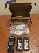 Motorola Xpr7550e Sma Connector Vhf Enabled Hk2079a With Full Warranty W Accy