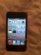 Apple Ipod Touch 4th Generation 64gb Black Mc547ll Us Seller Bundle With Case
