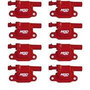 Msd Ignition 82658 Blaster Ls Coil Fits 05-13 Gm Ls 2/3/4/7/9 Engines Pack Of 8