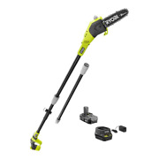 Ryobi Pole Saw 8 In. 18-volt Lithium-ion Cordless Tool-less Chain Tensioning