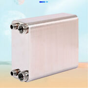 Details About 100-plate Heat Water Exchanger 1/2and039and0391and039and039 Mpt Ports Heating System